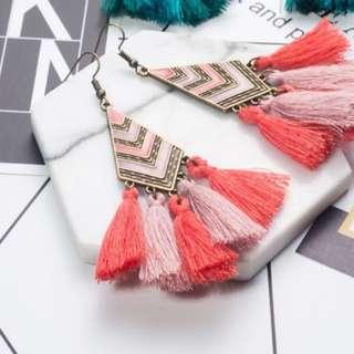Tassel Earrings bohemian style