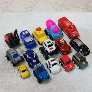 Mixed pullback minicars - LOT