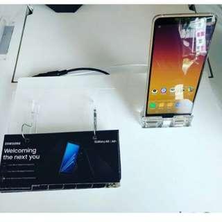 SAMSUNG GALAXY A8+ terbaru bisa di cicil