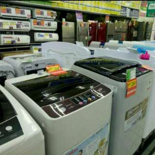 Elektronik rumah tangga seperti kulkas, AC mesin cuci dll bisa dicicil