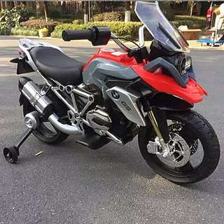 BMW R1200 GS KIDS, PREMIUM, CHILDREN ELECTRIC TOY MOTORCYCLE