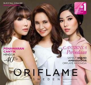 Katalog Oriflame Maret 2018