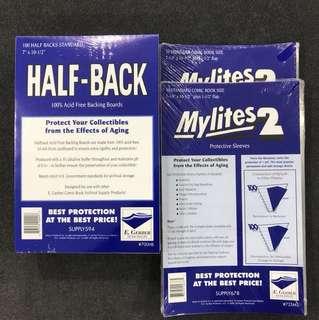 Egerber Mylites 2 & Half Back Boards (Set Of 100 Pcs - Standard Size)