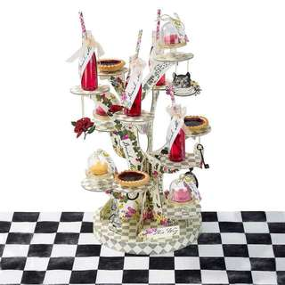 Alice in Wonderland Cupcake Tea Stand