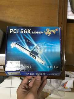 Pci 56k modem card