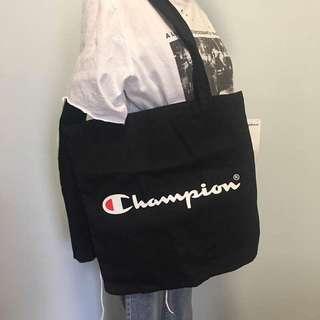 Champion Canvas Tote Bag
