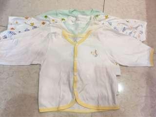 preloved size 6-12 bulan baju tangan panjang