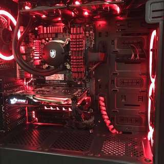 High-End Gaming Deskop CPU + Gigabite Z97X-Gaming 3 + Intel(R) Core(TM) i5-4690K Processor + MSI Gaming X OC Nvidia GeForce GTX 1050Ti + 16GB DDR3 RAM G.Skill X Series + 256GB M.2 NVMe SSD + 1TB Seagate 7200rpm Hard Disk