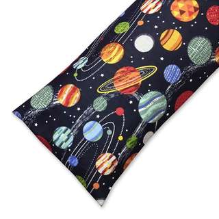 Galaxy Planets Buckwheat Pillow