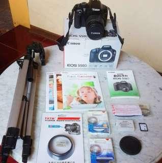 Canon eos 550D slr