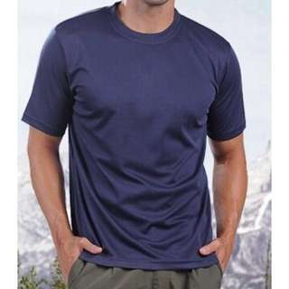 HiCool機能性吸濕排汗圓領T恤 百搭必備單品 羅紋領口設計