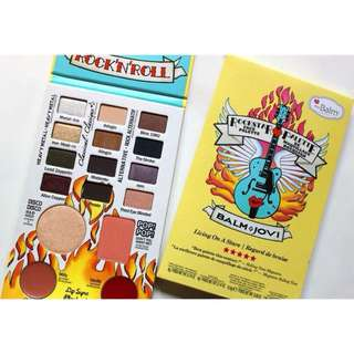 THE BALM JOVI EYESHADOW ROCKSTAR PALLET