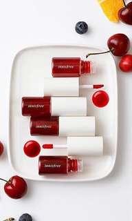 innisfree vivid fruit tint no 1 cherry