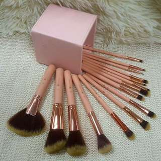 BH COSMETIC 15 PCS BRUSH SET WITH BOX