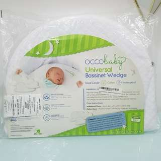 Occobaby Universal Crib Wedge Pillow for Reflux