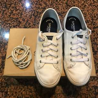 Sperry Top-Sider Seacoast White Sneakers