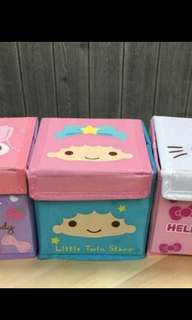 Sanrio little Twinstar foldable small box