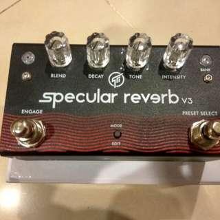 Gfi specular reverb pedal shimmer v3