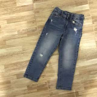 Mango kids denim pants