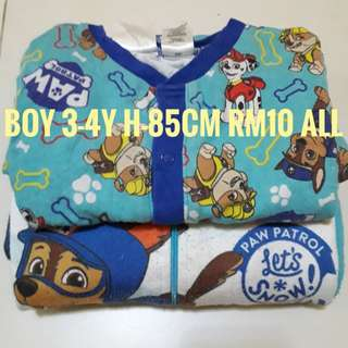 Boy sleepsuit
