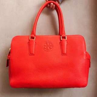 Tory Burch 鮮橙手提包