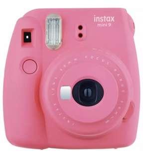 Fujifilm Instax Mini 9 -Flamingo Pink