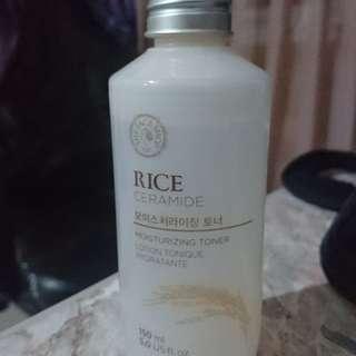 The face shop rice ceramide moisturising toner