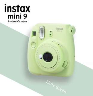 Fujifilm Instax Mini 9- Lime Green