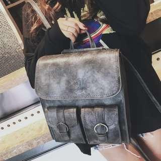 【嫻仔売】復古後背包