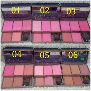 NAKED6 BLUSHER 5 IN 1