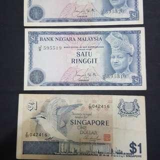 $1 malaysia & singapore