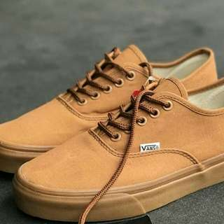 .vans authentick mono pull brown