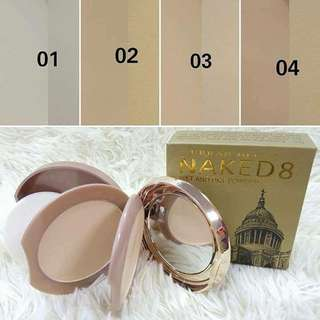 NAKED 8 WET & DRY COMPACT POWDER 2 IN 1