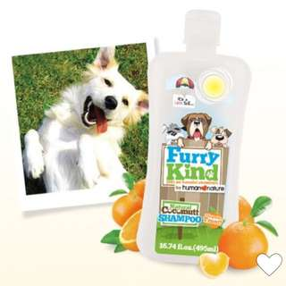 Furry Kind Dog Shampoo by Human Nature