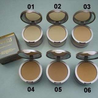 NAKED 3 COMPACT POWDER WITH LOOSE POWDER