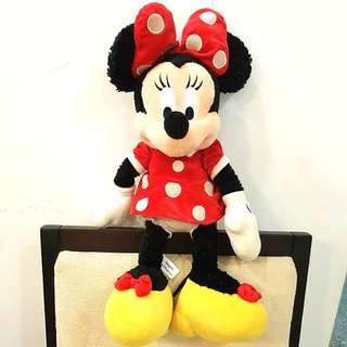Authentic Large Minnie Mouse Soft Toy Orlando