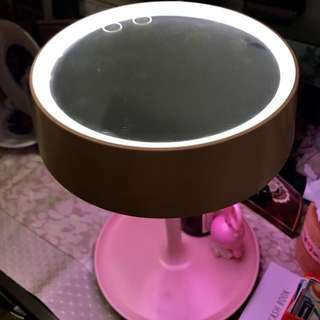 粉色LED桌鏡檯燈(含運)