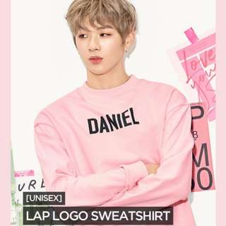 [FLASH SALE] KANG DANIEL x LAP sweatshirt