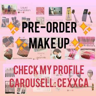 PRE ORDER AFFORDABLE MAKE UP!