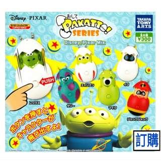 (訂購) disney 迪士尼 Toystory Aliens 三眼仔, monsters inc 怪獸公司 - 扭蛋 玩具 Figures