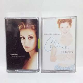 Celine Dion - Let's Talk About Love , Falling into you Cassette Tape