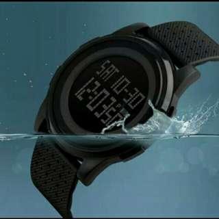 Jam tangan dgital skmei