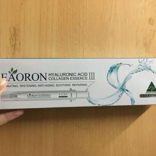 澳洲Eaoron 第三代水光針  Hyaluronic Acid Collagen Essence III