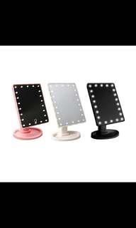 22 LEDs Brightness Adjustable cosmetic makeup mirror