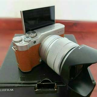 Fujifilm X-A3 with Camera Cleaning Kit and DSLR bag pack
