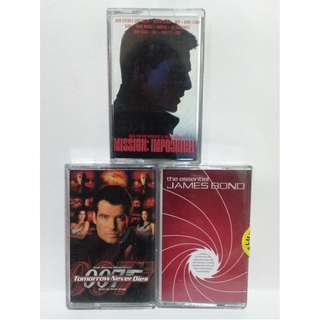 Movie Soundtracks Casette Tape Collection
