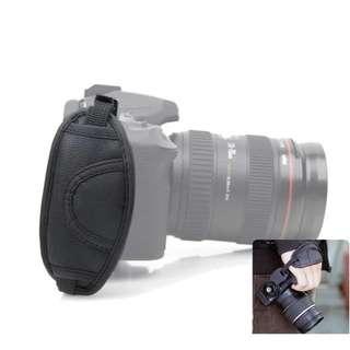 Hot Sale! Faux Leather Camera Hand Grip Wrist strap Belt bag Holder for Canon Nikon Sony Olympus SLR/DSLR