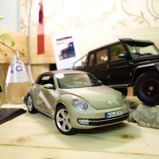 🚚 VW beetle 福斯 金龜車 敞篷 模型 1/18 汽車模型