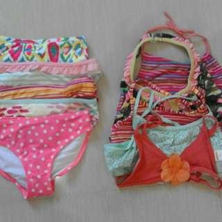 (2-4)Take all pre-loved swimwears