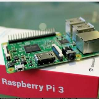 Raspberry pi 3 and accessories